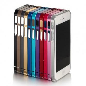 Ультратонкий алюминиевый бампер для Apple iPhone 5/5S/SE