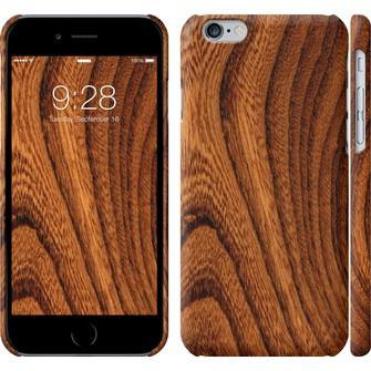 Чехол Тёмно-коричневое дерево 1107c-45