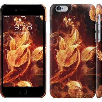 Чехол Огненные цветы 1100c-45