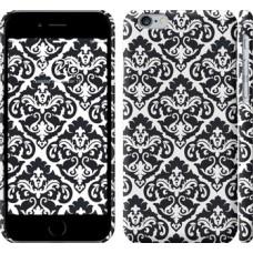 Чехол Черно-белый узор барокко 1704c-45