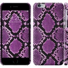 Чехол Фиолетовая кожа змеи 1005c-45