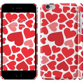 Чехол Красные сердца 721c-45