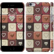 Чехол Шоколад с сердечками 3051c-45
