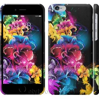 Чехол Абстрактные цветы 511c-45