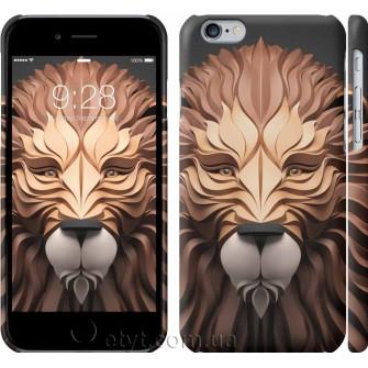 Чехол Абстрактный лев 3260c-45