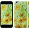 Чехол Цветы на зелёном фоне 1823c-45