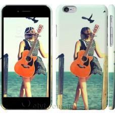 Чехол Девушка с гитарой 178c-45