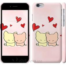 Чехол Любовь. Розовые коты 703c-45