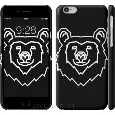 Чехол Медведь Черный 3516c-45