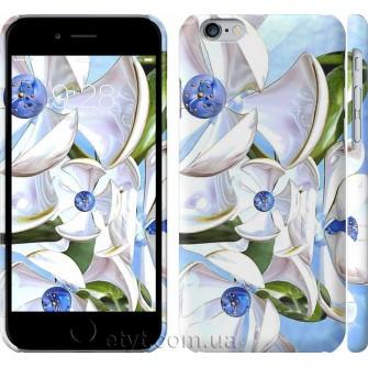 Чехол Металлические цветы 1921c-45