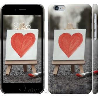 Чехол Нарисованное сердце 726c-45
