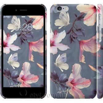 Чехол Нарисованные цветы 2714c-45