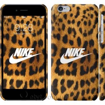 Чехол Nike на леопардовой шкуре 3082c-45