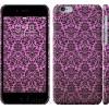 Чехол Розовый узор барокко 2095c-45