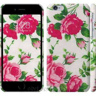 Чехол Розы на белом фоне 2277c-45