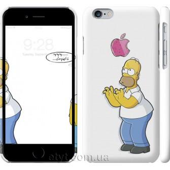 Чехол Симпсоны. Гомер с яблоком 937c-45