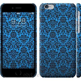 Чехол Синий узор барокко 2117c-45