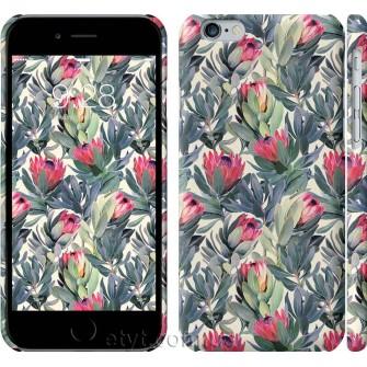 Чехол Тропические цветы 2872c-45