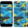 Чехол Желто-голубой камуфляж 1084c-45