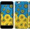 Чехол Жёлто-голубые цветы 1048c-45