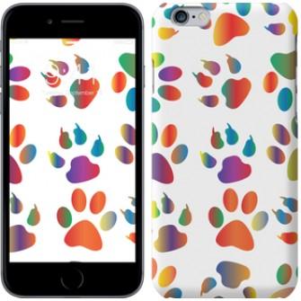 Чехол разноцветные лапки 3866m-45