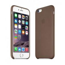 Ультратонкая кожаная накладка для iPhone 6/6S