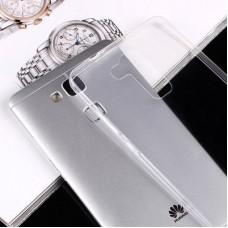 Ультратонкий прозрачный чехол для Huawei Ascend G7 / Mate 7 / Y3C / Honor 4C / Honor 6 Plus